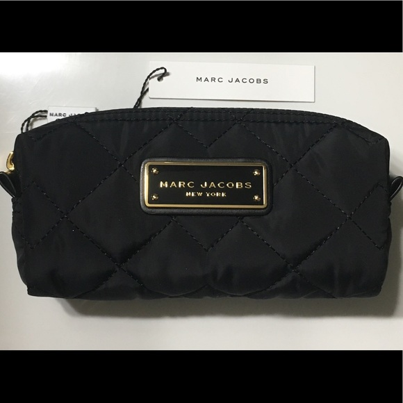 6916c5ccb977 NWT Marc Jacobs Quilted Nylon Cosmetics Bag
